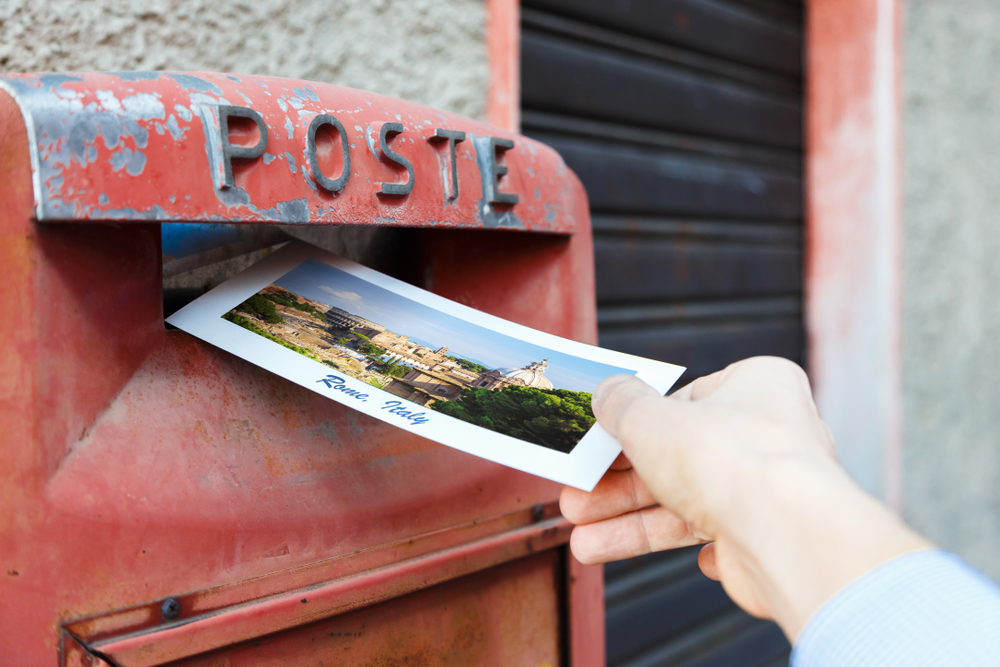 what are the standard dimensions of a postcard